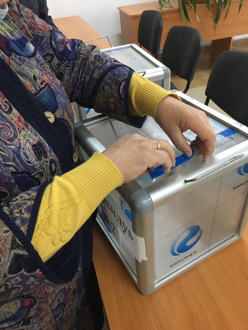 Голосование вне помещений. Выборы депутатов местных кенешей